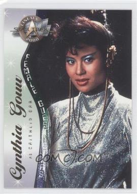 2000 Skybox Star Trek: Cinema 2000 - Female Guest Stars #F5 - Cynthia Gouw as Caithlin Dar