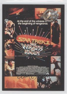 2000 Skybox Star Trek: Cinema 2000 - Posters #P2 - Star Trek II: The Wrath of Khan