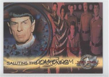 2000 Skybox Star Trek: Cinema 2000 - Saluting the Captains #SC2 - Captain Spock