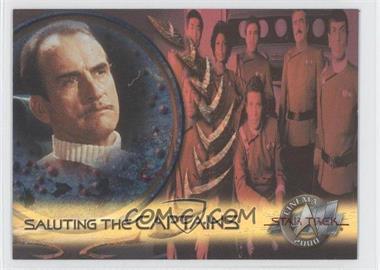 2000 Skybox Star Trek: Cinema 2000 - Saluting the Captains #SC5 - Captain Styles