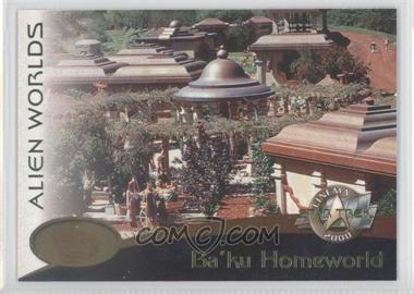 2000 Skybox Star Trek: Cinema 2000 Alien Worlds #AWAW09 - Ba'ku Homeworld