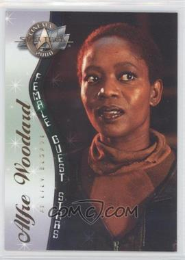 2000 Skybox Star Trek: Cinema 2000 Female Guest Stars #F8 - Alfie Woodard as Lily Sloane
