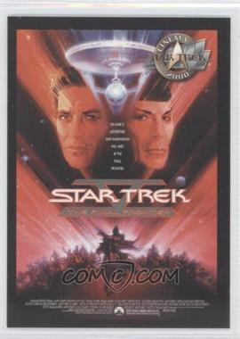2000 Skybox Star Trek: Cinema 2000 Posters #P5 - Star Trek V: The Final Frontier