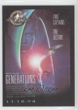 2000 Skybox Star Trek: Cinema 2000 Posters #P7 - Star Trek: Generations