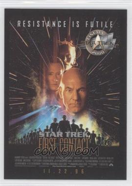 2000 Skybox Star Trek: Cinema 2000 Posters #P8 - Star Trek: First Contact
