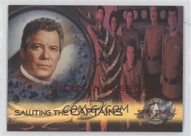 2000 Skybox Star Trek: Cinema 2000 Saluting the Captains #SC1 - Captain James Kirk