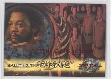 2000 Skybox Star Trek: Cinema 2000 Saluting the Captains #SC3 - Captain Clark Terrell