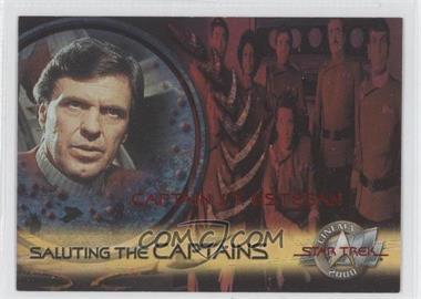 2000 Skybox Star Trek: Cinema 2000 Saluting the Captains #SC4 - Captain J.T. Esteban