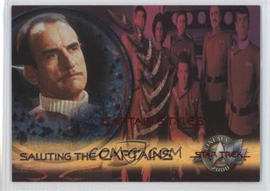 2000 Skybox Star Trek: Cinema 2000 Saluting the Captains #SC5 - Captain Styles