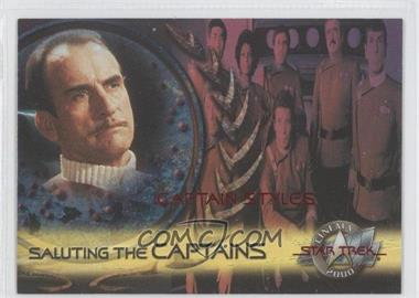 2000 Skybox Star Trek: Cinema 2000 Saluting the Captains #SC5 - [Missing]