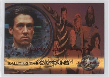 2000 Skybox Star Trek: Cinema 2000 Saluting the Captains #SC8 - Captain John Harriman
