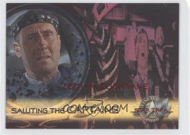 2000 Skybox Star Trek: Cinema 2000 Saluting the Captains #SC9 - Zefram Cochrane