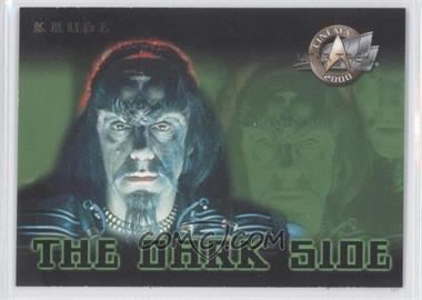 2000 Skybox Star Trek: Cinema 2000 The Dark Side #3DS - Commander Kruge