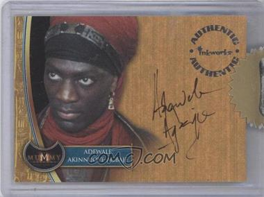 2001 Inkworks The Mummy Returns Autographs #A5 - Adewale Akinnuoye-Agbaje as Lock-Nah