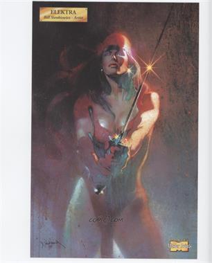 2001 Marvel Master Prints - [Base] #EL - Elektra