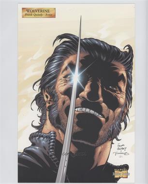 2001 Marvel Master Prints - [Base] #WO - Wolverine