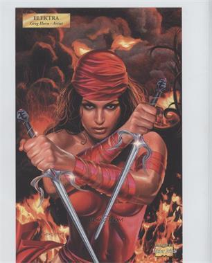 2001 Marvel Master Prints #EL - Elektra