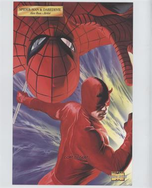 2001 Marvel Master Prints #SPDA - Spider-Man & Daredevil