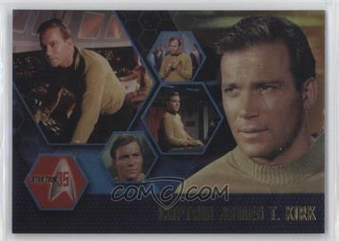 2001 Rittenhouse Star Trek: 35 - Promos #P1 - Captain James T. Kirk