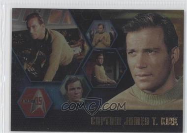 2001 Rittenhouse Star Trek: 35 Promos #P1 - Captain James T. Kirk