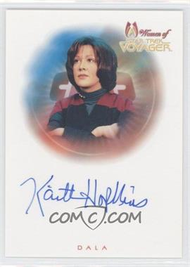 2001 Rittenhouse The Women of Star Trek: Voyager HoloFEX AutoFEX Autographs #A13 - [Missing]