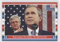 Bush Assures The Nation: