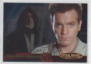 2001 Topps Star Wars: Evolution - Promos #P2 - Obi-Wan Kenobi