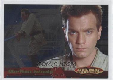 2001 Topps Star Wars: Evolution [???] #P1 - Obi-Wan Kenobi