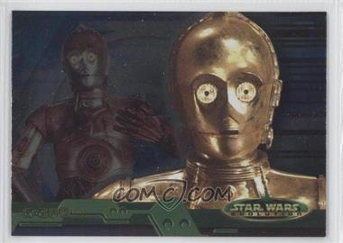 2001 Topps Star Wars: Evolution #2B - C-3PO