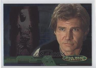 2001 Topps Star Wars: Evolution #3B - Han Solo