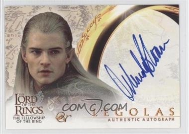 2001 Topps The Lord of the Rings: The Fellowship of the Ring - Autographs #ORBL - Orlando Bloom as Legolas