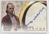 Hugo Weaving as Elrond