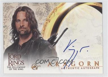 2001 Topps The Lord of the Rings: The Fellowship of the Ring Autographs #VIMO - Viggo Mortensen as Aragorn