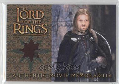 2001 Topps The Lord of the Rings: The Fellowship of the Ring Movie Memorabilia #N/A - Boromir's Cloak