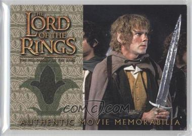 2001 Topps The Lord of the Rings The Fellowship of the Ring Movie Memorabilia #N/A - Merry's Travel Coat