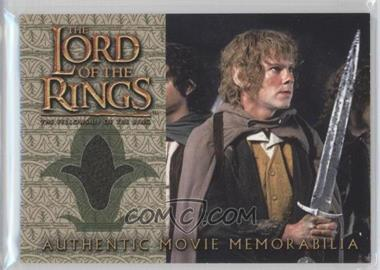 2001 Topps The Lord of the Rings: The Fellowship of the Ring Movie Memorabilia #N/A - Merry's Travel Coat