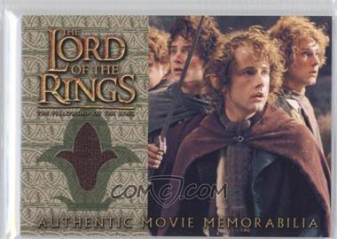 2001 Topps The Lord of the Rings: The Fellowship of the Ring Movie Memorabilia #N/A - Pippen's Travel Cloak