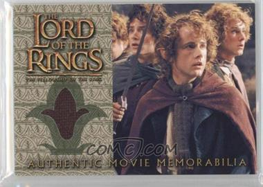 2001 Topps The Lord of the Rings: The Fellowship of the Ring Movie Memorabilia #N/A - Pippin's Travel Cloak