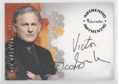 2002 Inkworks Alias Season 1 [???] #A3 - Victor Garber as Jack Bristow
