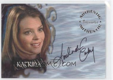 2002 Inkworks Buffy the Vampire Slayer Season 6 Autographs #A38 - Amelinda Embry as Katrina