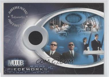 2002 Inkworks Men in Black II - Pieceworks Relics #PW1 - MIB Suits