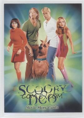 2002 Inkworks Scooby Doo The Movie - Promos #SD-1 - Scooby Doo Movie Story Cards