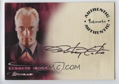 2002 Inkworks Witchblade Season 1 - Autographs #A4 - Anthony Cistaro as Kenneth Irons