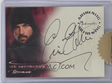 2002 Inkworks Witchblade Season 1 Autographs #A5 - Eric Etebari as Ian Nottingham