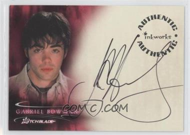 2002 Inkworks Witchblade Season 1 Autographs #A6 - Gabriel Bowman as John Hensley