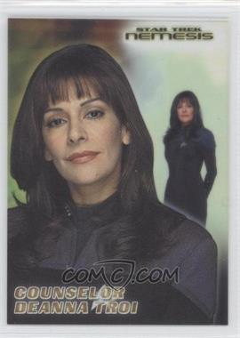 2002 Rittenhouse Star Trek: Nemesis Casting Call Cel Cards #CC3 - Counselor Deanna Troi