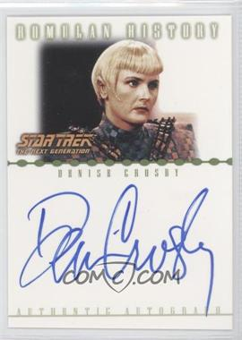 2002 Rittenhouse Star Trek: Nemesis Romulan History Autographs #RA1 - [Missing]