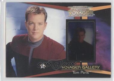 2002 Rittenhouse The Complete Star Trek: Voyager - Voyager Gallery #G4 - Tom Paris