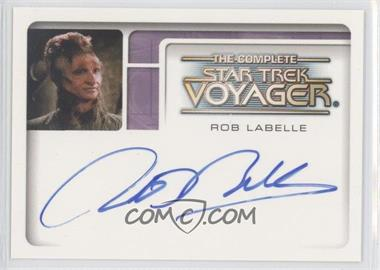 2002 Rittenhouse The Complete Star Trek: Voyager [???] #A6 - Rob LaBelle as Oxilon