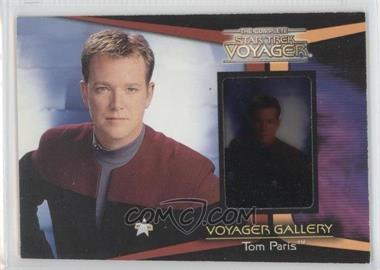2002 Rittenhouse The Complete Star Trek: Voyager Voyager Gallery #G4 - Tom Paris